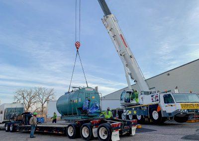 2019 Energy Control Firetube Boiler Installation