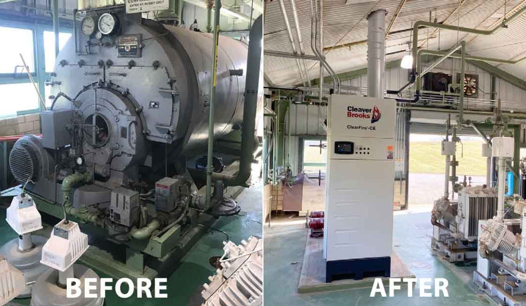 Kewaunee Boiler Retrofit