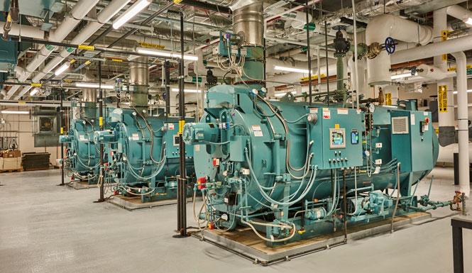 Integrated Steam Firetube Boiler System