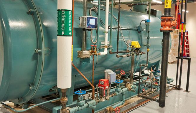 Firetube Boiler Gas Train