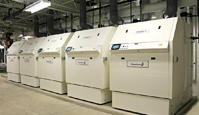 Energy Control Condensing Boiler Installation
