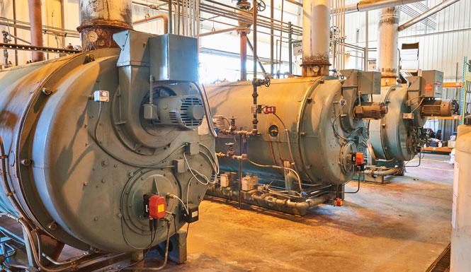 Firetube Boiler Installation