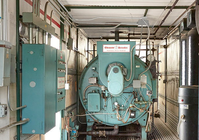 Steam Boiler Rental