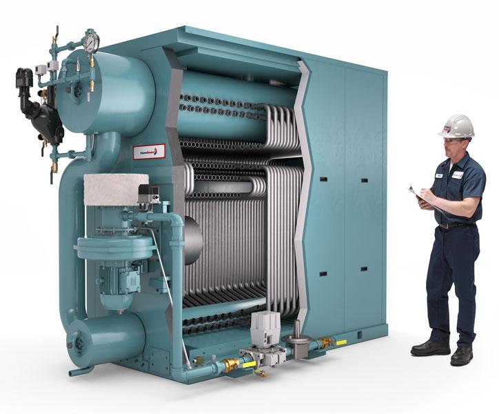 steam commercial watertube boiler
