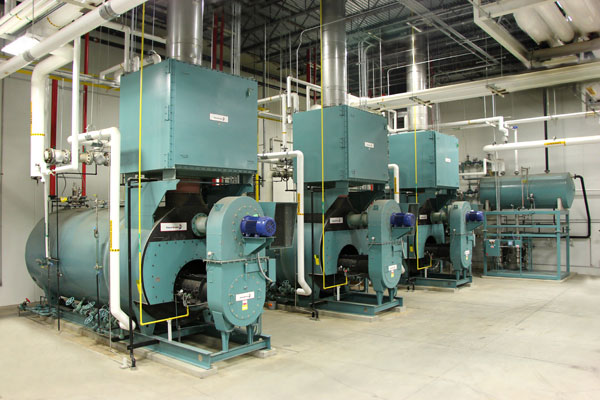 Energy Control Steam Boiler Installation