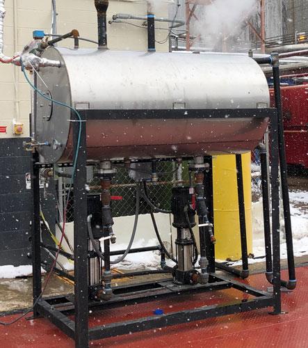 Boiler Feed System Rental