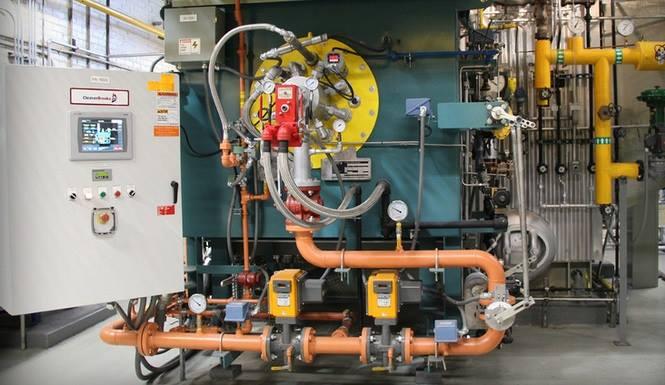 IWT Boiler NATCOM burner controls