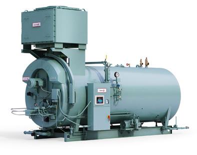 Steam firetube boilers