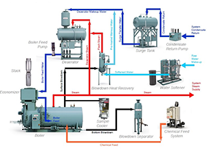 Boiler Steam System Design