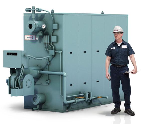 commercial watertube boiler